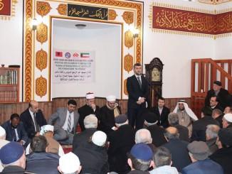 U inaugurua xhamia e re në fshatin Mjedë