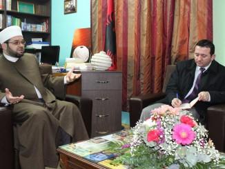 Myftiu priti Koordinatorin e Dijanetit të Turqisë, z. Yasin Şengül