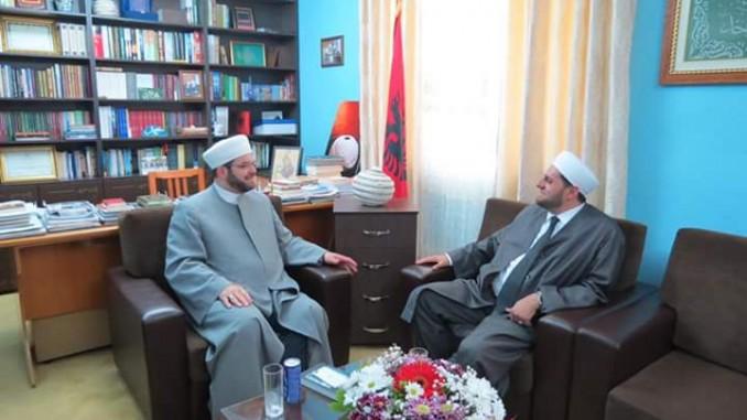 Myftiu priti Imamin e UIC të Arizonës, Imam Didmar Faja