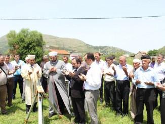 Ceremonia e nisjes së punimeve për xhaminë e re në Bërdicë