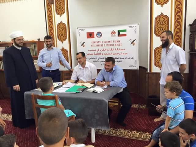 Konkurs hifzi i Kur'anit Famëlartë