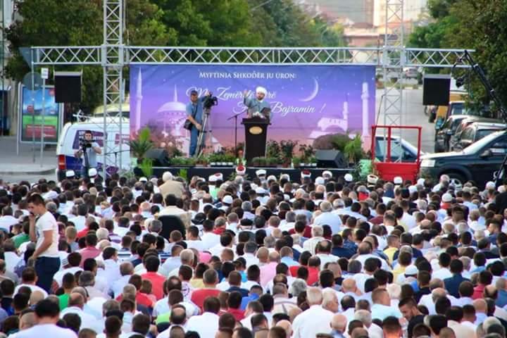 Fjalimi i Myftiut të Shkodrës për Fitër Bajramin 1437/2016