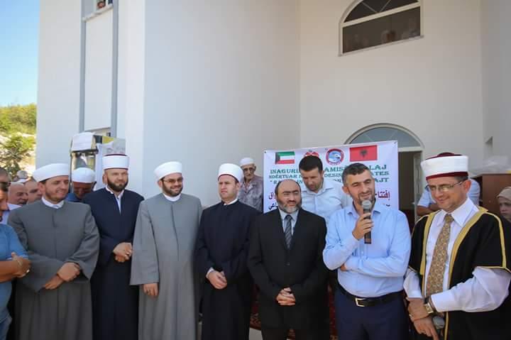 U përurua xhamia e re në fshatin Kullaj, Postribë