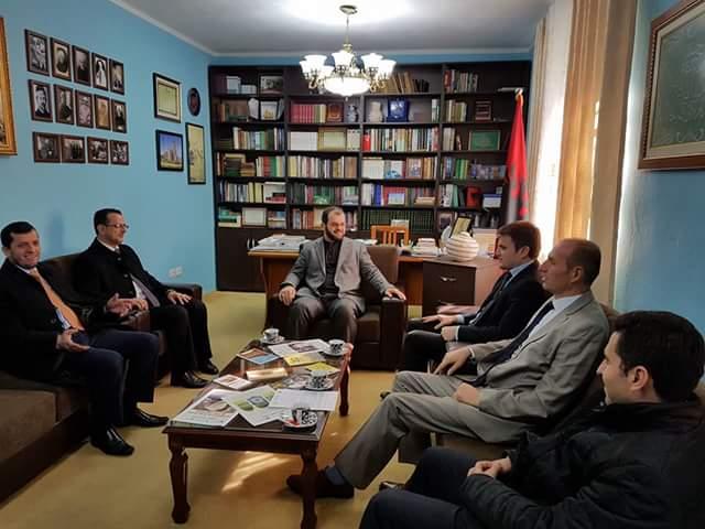 Nënkryetari i KMSh, z. Gazmend Aga, takim pune në Myftininë Shkodër
