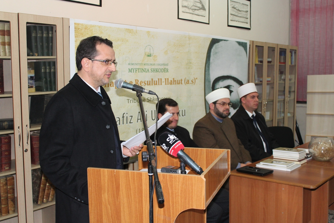 Sesion shkencor mbi aktivitetin e dijetarit shqiptar, H. Ali Ulqinaku