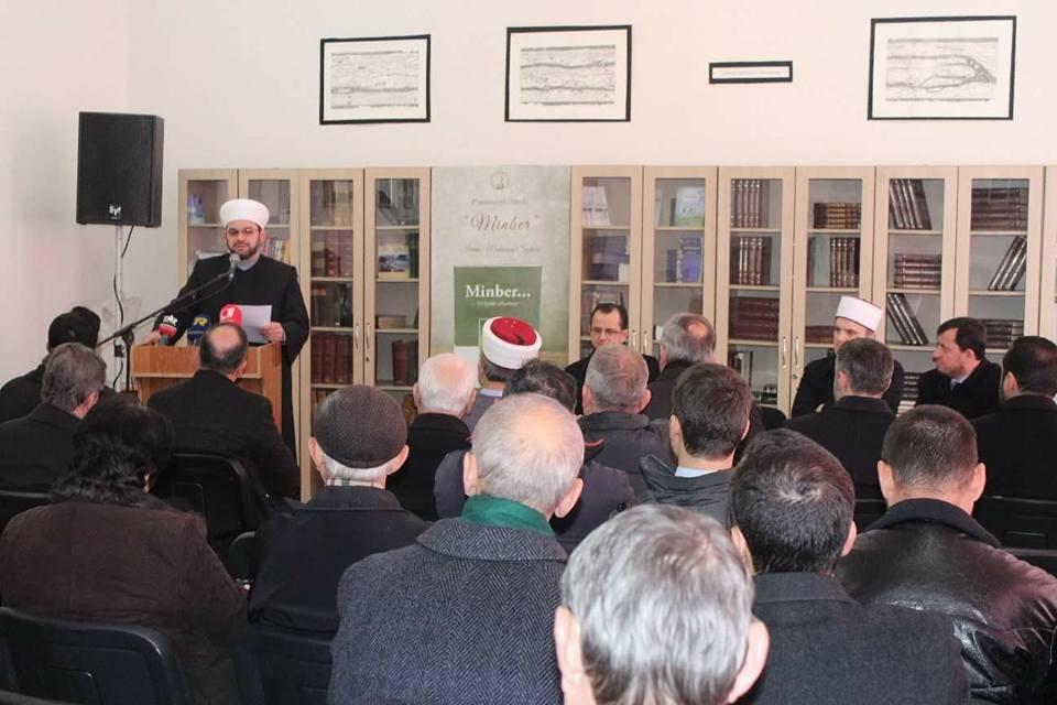 "U promovua libri ""Minber…"", nga Imam Muhamed B. Sytari"