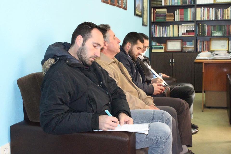 Mevludi Sherifë, takim pune me një grup imamësh