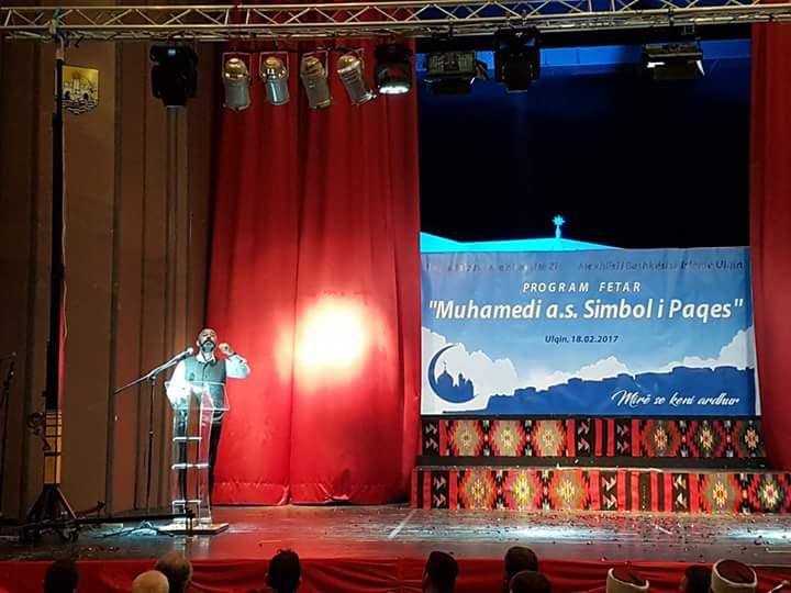 """Myftiu ligjëroi mbi temën: """"Hz. Muhammedi (a.s), Lajmëtar i Paqes"""""""