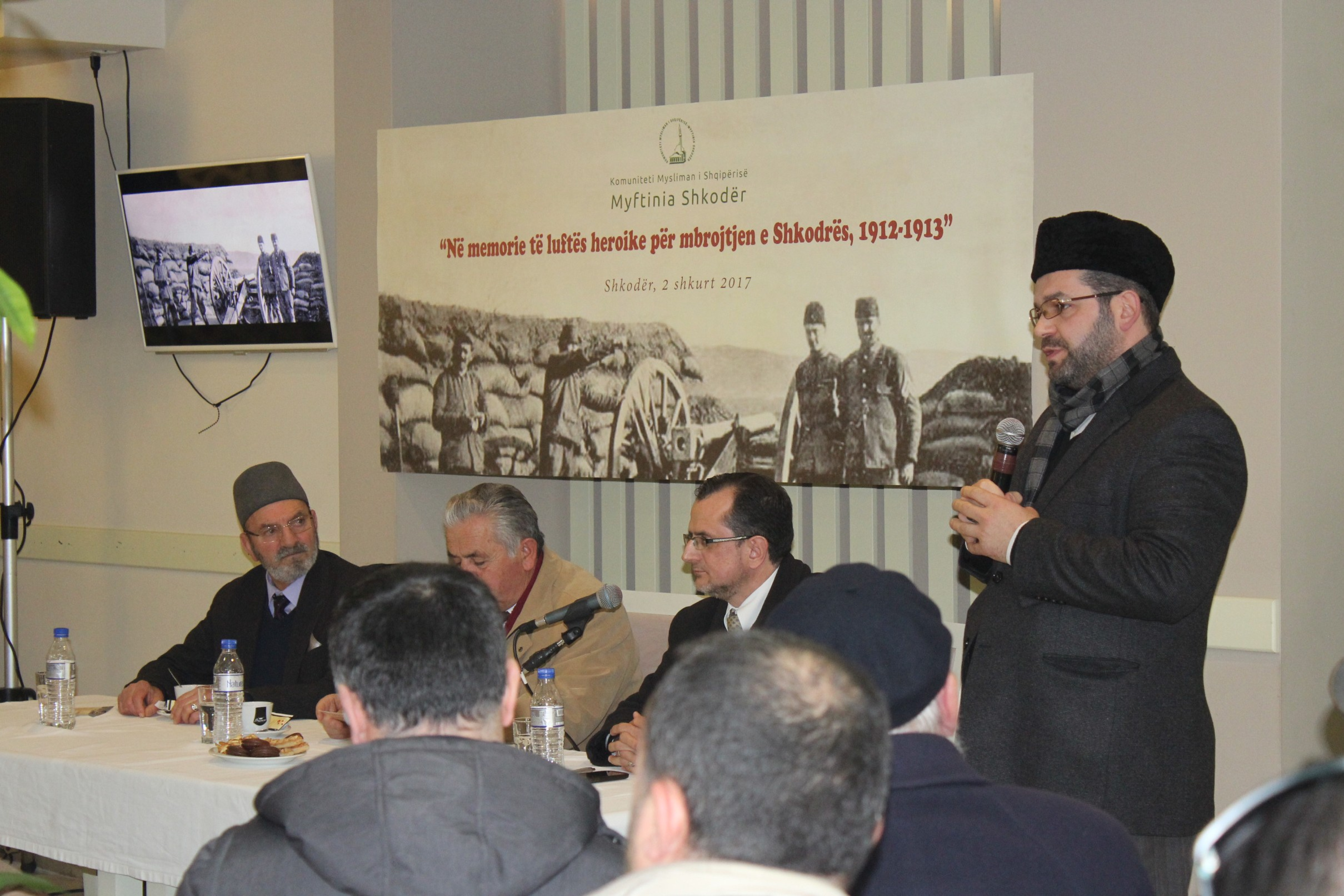 Përkujtohet historia e lavdishme e mbrojtjes së Shkodrës, 1912-1913