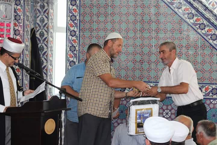 Ceremonia e shpërndarjes së ihrameve