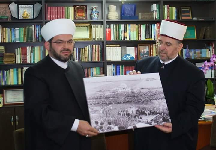 """""""Mirënjohje"""" për Myftiun e Kosovës, Mr. Naim Tërnava"""