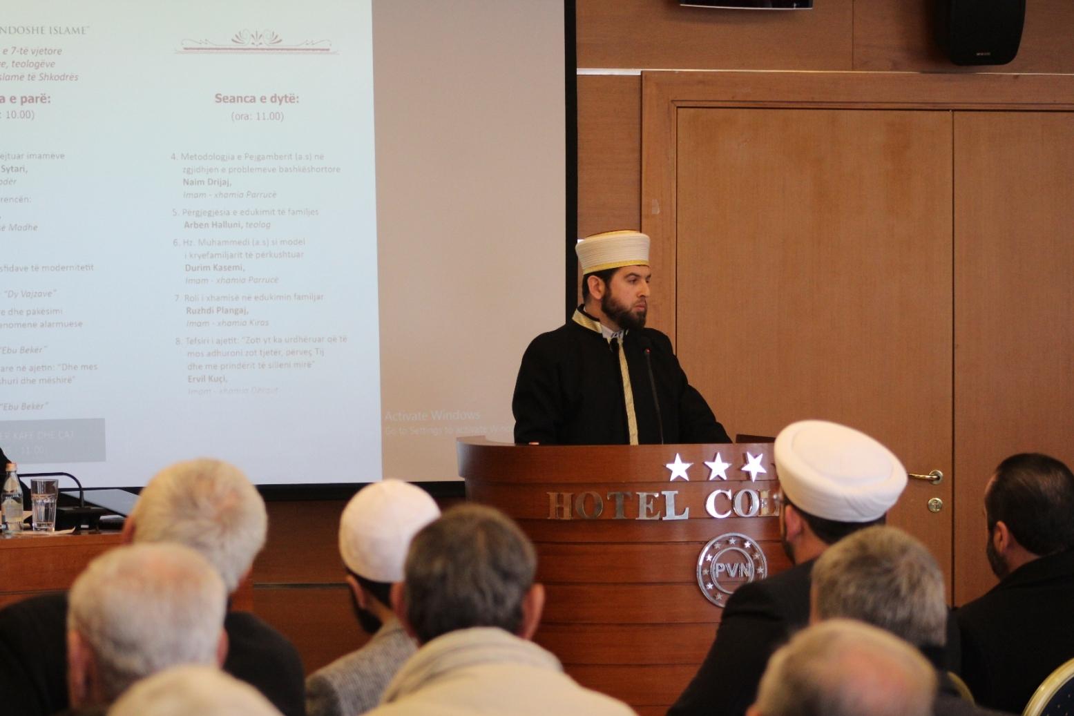 U zhvillua konferenca e 7-të vjetore e imamëve, teologëve dhe thirrësve islamë të Shkodrës