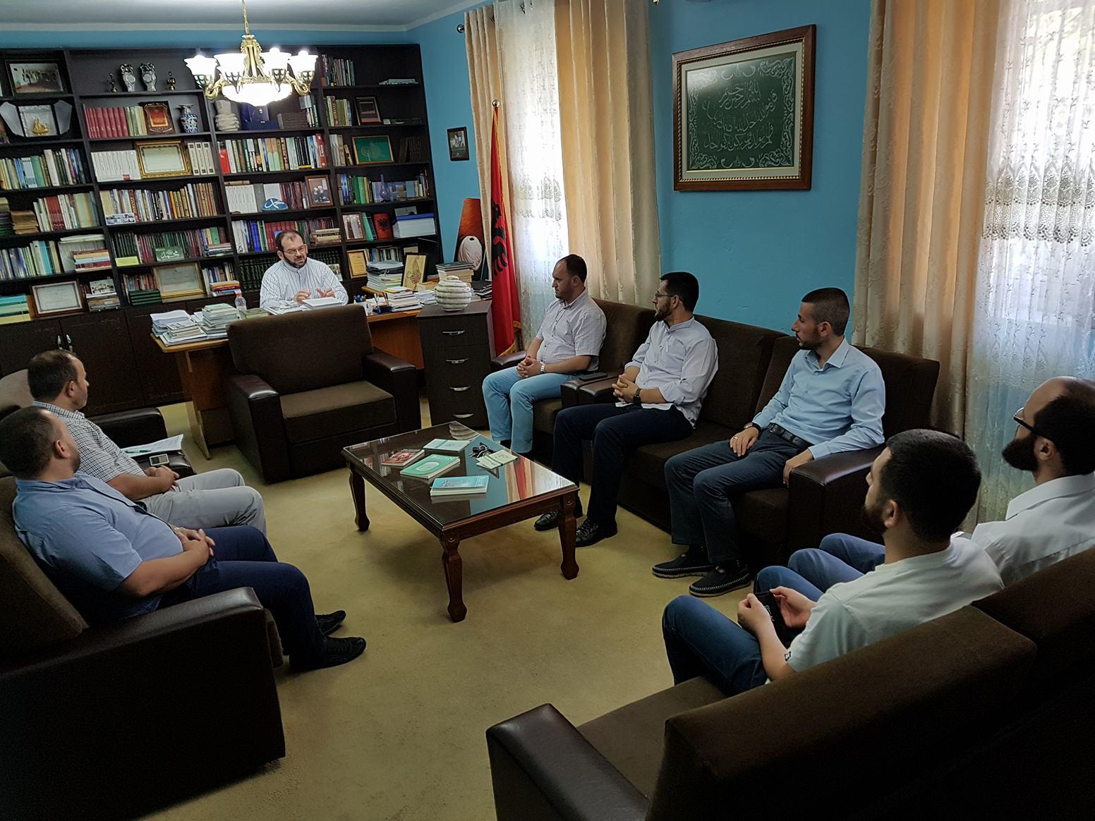 Gjallërimi i jetës fetare, Myftiu takoi imamët teologë
