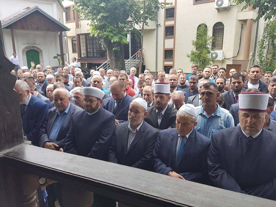 Prizren, Myftiu mori pjesë në ngushëllimet për Mr. Muhidin Ahmeti