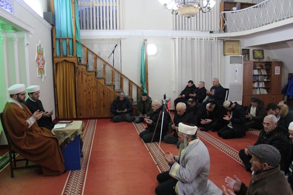 Një mbrëmje e begatë fetare në xhaminë e Tophanës