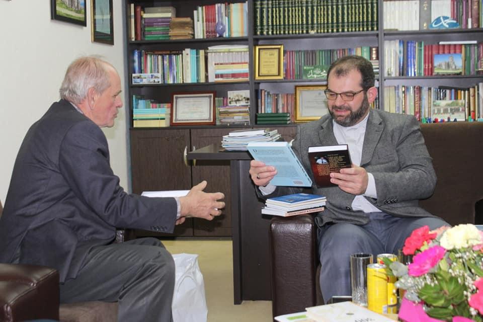 Myftiu priti Kryeimamin e B.Islame në Ostros