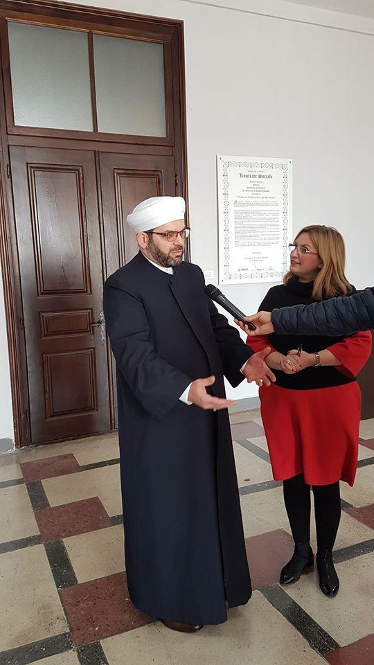 Myftiu vizitoi Kryetaren e Bashkisë Shkodër