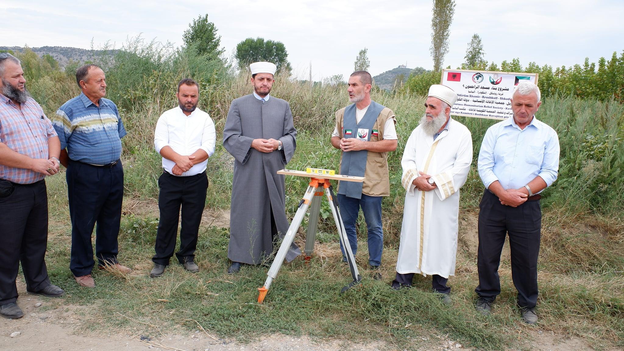 Nisin punimet për ndërtimin e xhamisë së re në fshatin Rrushkull-Belaj