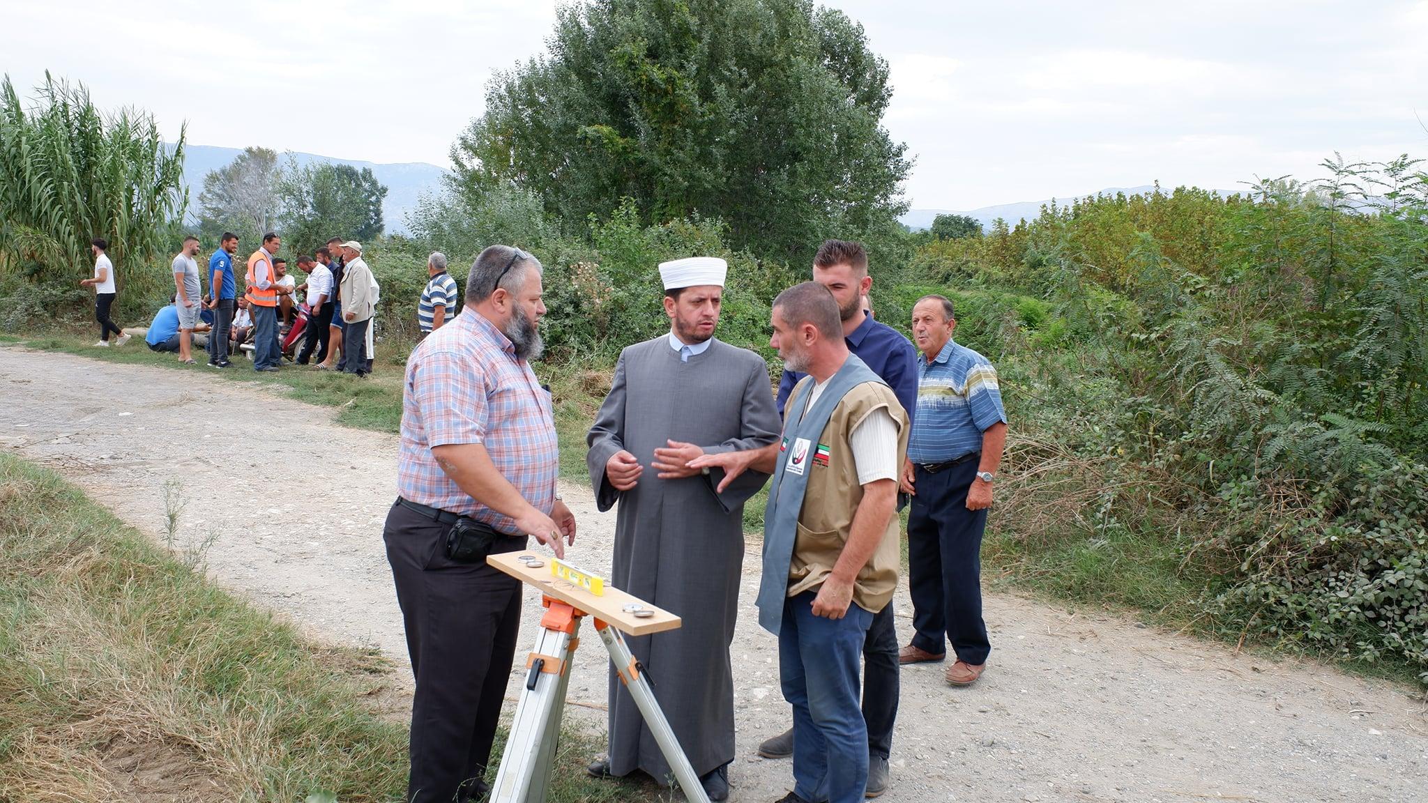 Nisin punimet për ndërtimin e xhamisë së re në fshatin Rrushkull-Belaj (8)