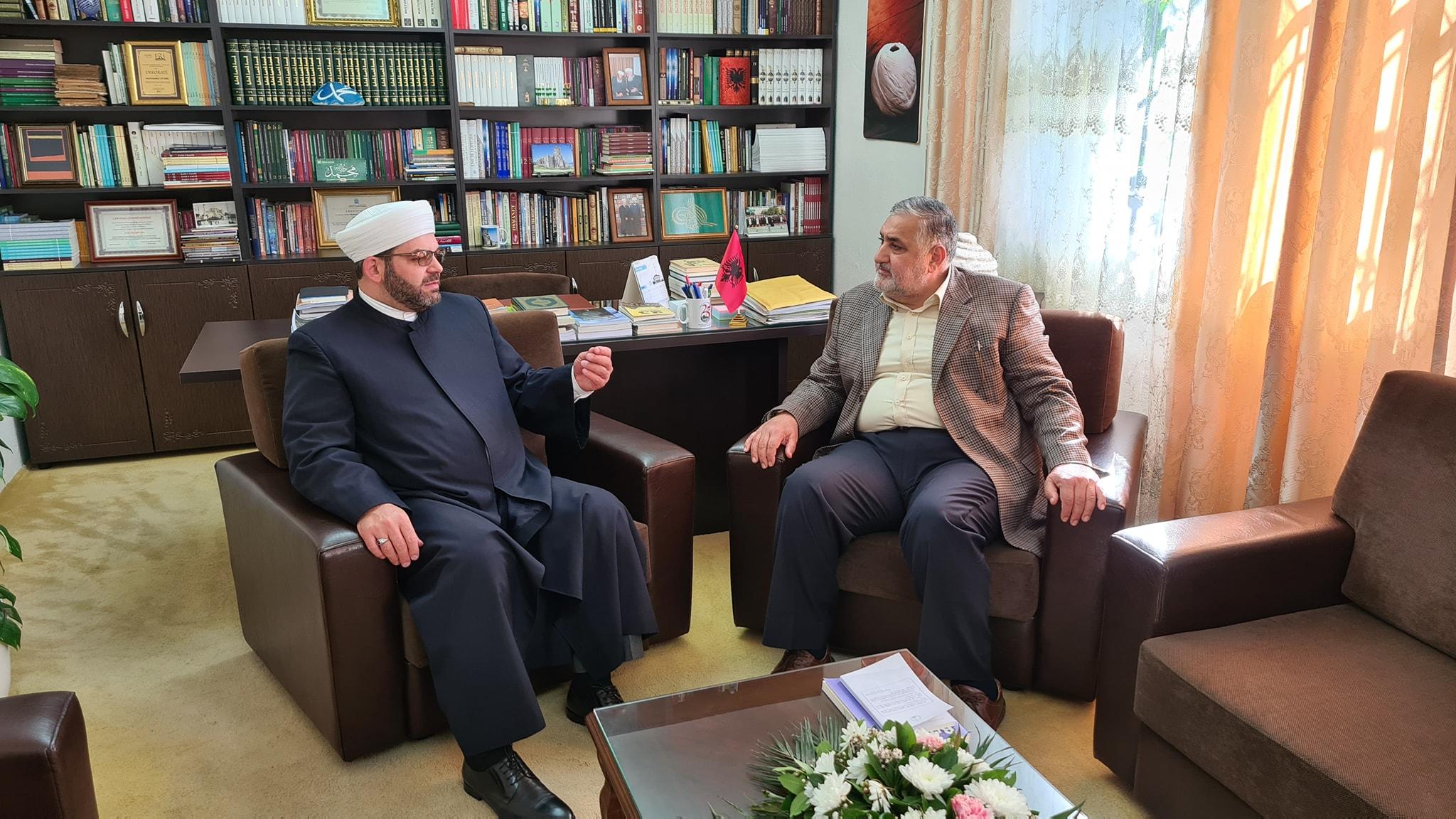Myftiu priti mendimtarin e shquar islam, Dr. Salahudin Keftaro