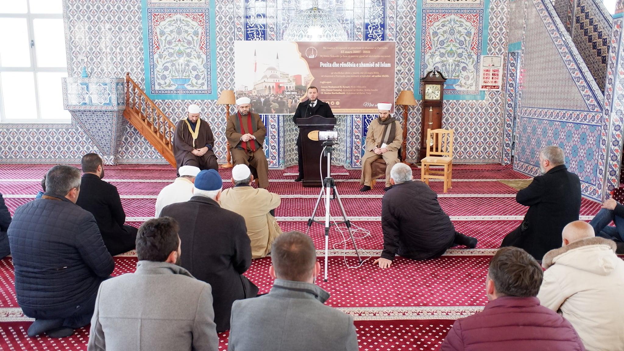 """Myftinia organizoi aktivitetin """"Pozita dhe rëndësia e xhamisë në Islam""""(10)"""