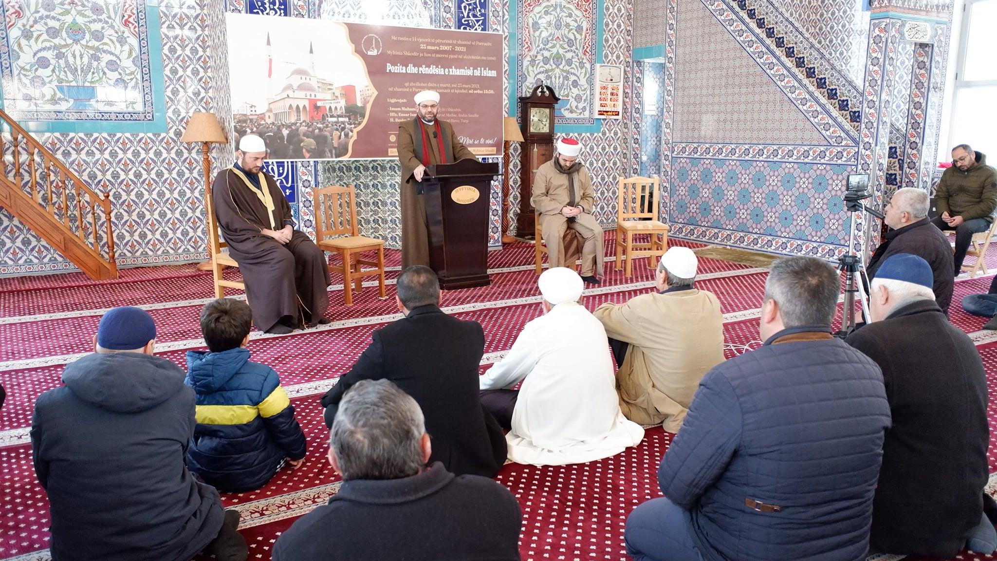 """Myftinia organizoi aktivitetin """"Pozita dhe rëndësia e xhamisë në Islam""""(3)"""