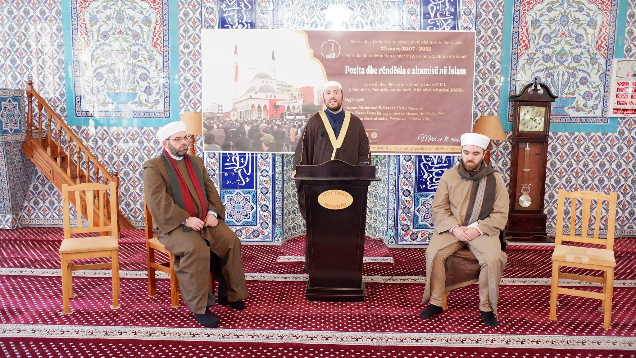 """Myftinia organizoi aktivitetin """"Pozita dhe rëndësia e xhamisë në Islam""""(7)"""
