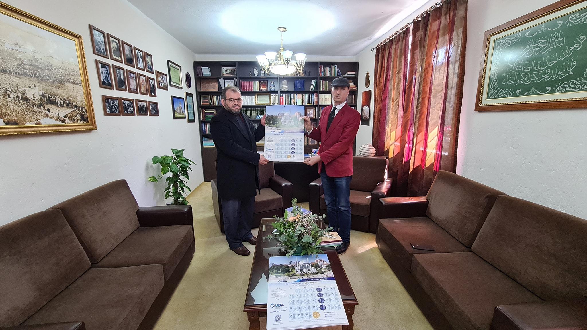 UBA shpërndan kalendarët e Ramazanit për Myftininë Shkodër